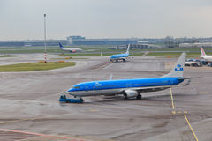 Schiphol airport view Stock Photography