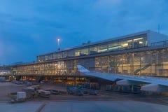 SCHIPHOL/AMSTERDAM - 27 juin 2017 - vue de l'aéroport de Schiphol Photographie stock