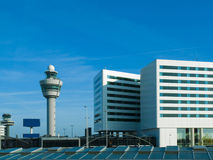 Schiphol Control Tower, Amsterdam Stock Images