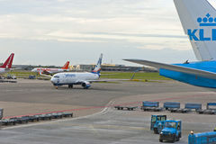 Schiphol-Flughafen Lizenzfreies Stockfoto