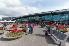 Schiphol-Flughafen lizenzfreie stockbilder