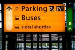 Schiphol-Flughafen Stockbilder