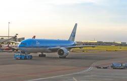 Schiphol flygplats Arkivfoton