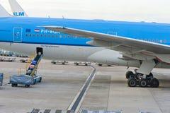 Schiphol flygplats Arkivbild