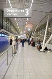 Schiphol flygplats royaltyfria foton