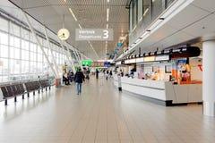 Schiphol lotniska wnętrze Obraz Royalty Free