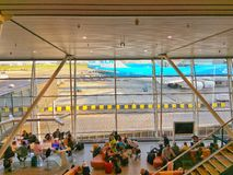Schiphol lotnisko Obraz Stock