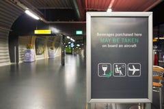 Schiphol lotnisko Zdjęcie Royalty Free