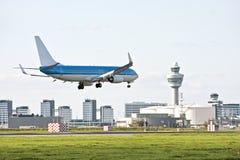 Schiphol luchthaven in Nederland Royalty-vrije Stock Afbeeldingen