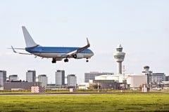Schiphol luchthaven in Nederland Royalty-vrije Stock Fotografie