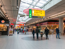 Schiphol Plaza at Amsterdam Airport,  Holland Royalty Free Stock Images