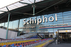 Schiphol Terminal Stock Images