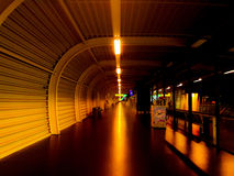 Schiphol wachtend gebied M Royalty-vrije Stock Afbeelding