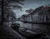 Schipluiden un villaggio olandese Fotografie Stock Libere da Diritti