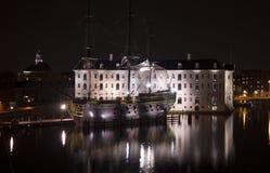 Schipmuseum in Amsterdam Royalty-vrije Stock Foto's