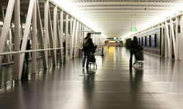 Schipol Airport in Amsterdam Royalty Free Stock Photos