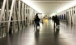 Schipol Flughafen in Amsterdam Lizenzfreie Stockfotos
