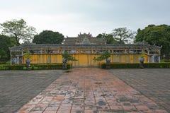 Schirm in Dien Tho Residence Lizenzfreie Stockbilder