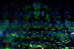 Schirm-Musterzusammenfassung des Störschubs digitale, dunkel vektor abbildung