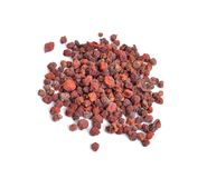 Schisandra chinensis, ягода магнолии, 5-вкус-плодоовощ, wu Вэй стоковые изображения