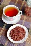 Schisandra chinensis, Magnolienbeere, Fünf-Aromafrucht, Wu Wei Stockbild