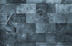 Schist Brick Wall Stock Photo