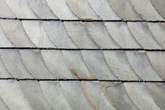 Schist cladding. Gray schist facade in Germany Royalty Free Stock Image