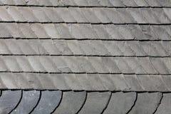 Schist cladding. Gray schist facade in Germany Stock Photos