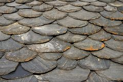 Schist tiles Royalty Free Stock Photo