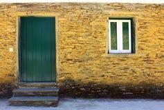 Schist Village Stock Photo