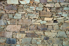Schist wall background texture Stock Photography