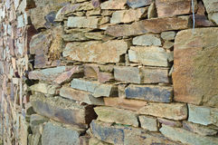 Schist wall close up Royalty Free Stock Photos