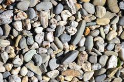 Schiste skały rzeki otoczaki obraz royalty free