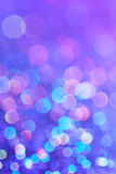 Schitter Bokeh-Purple Stock Afbeelding