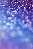 Schitter Bokeh-Purple Royalty-vrije Stock Foto