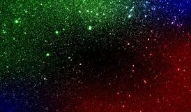 Schitter geweven kleurrijk in de schaduw gesteld behang als achtergrond stock foto