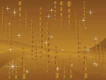 Schitter gouden achtergrond Royalty-vrije Stock Foto's