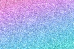 Schitter horizontale textuur met blauw roze kleureneffect stock illustratie