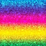 Schitter kaart De achtergrond van de regenboog De Kwaliteit van de premie royalty-vrije illustratie
