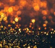 schitter lichten grunge achtergrond, schitter defocused abstracte Twi Royalty-vrije Stock Afbeeldingen