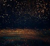 schitter lichten grunge achtergrond, schitter defocused abstracte Twi Royalty-vrije Stock Afbeelding