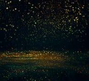 schitter lichten grunge achtergrond, schitter defocused abstracte Twi Stock Afbeeldingen
