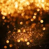 schitter lichten grunge achtergrond, schitter defocused abstracte Twi Stock Afbeelding