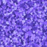 Schitter naadloze textuur Aanbiddelijke purpere deeltjes Eindeloos die patroon van fonkelende vierkanten wordt gemaakt deli vector illustratie