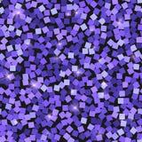 Schitter naadloze textuur Aanbiddelijke purpere deeltjes Eindeloos die patroon van fonkelende vierkanten wordt gemaakt deli royalty-vrije illustratie