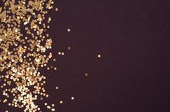 Schitter ontwerp van gloed het feestelijke fonkelingen stock fotografie