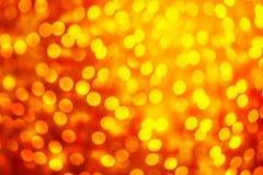 Schitter uitstekende lichten met onscherp speciaal magisch effect schitter Royalty-vrije Stock Fotografie