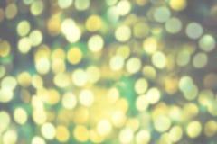 Schitter uitstekende lichten met onscherp speciaal magisch effect schitter Stock Fotografie