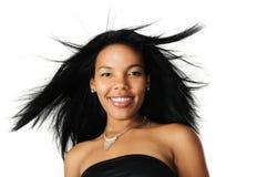 Schitterend Afrikaans model stock afbeeldingen