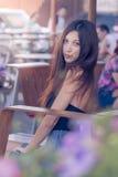 Schitterend brunette Stock Fotografie